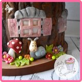 Katy Sue Designs | Sugar Buttons - Enchanted Window and Flowers_