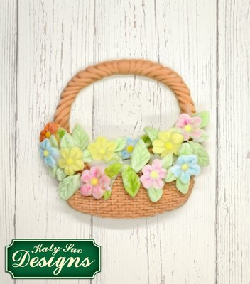 Katy Sue Designs | Basket and Flowers