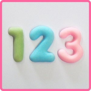 Katy Sue Designs | Domed Numbers