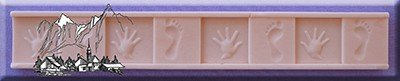 Alphabet Moulds | Tiny Hands and Feet Border